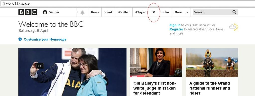 Using a bbc news proxy